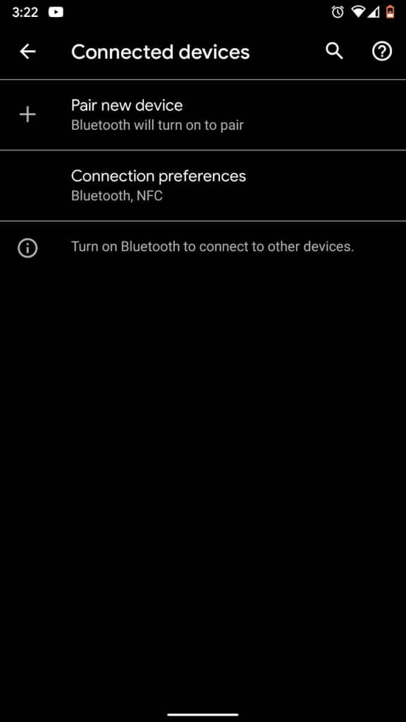Connection Preference