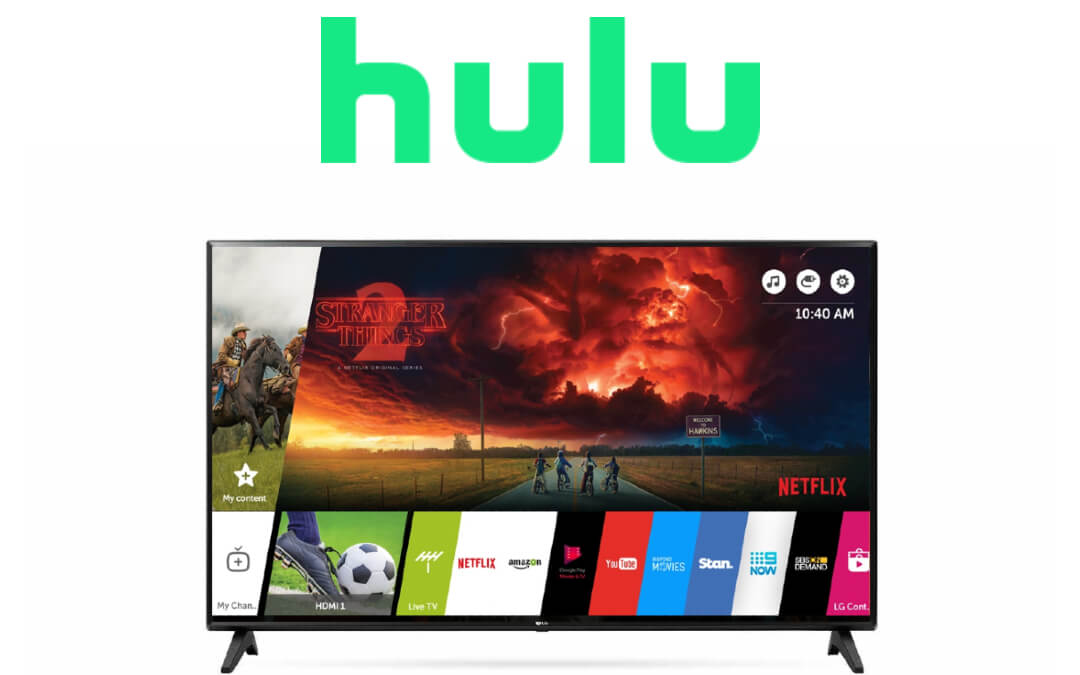How to Stream Hulu on LG Smart TV [All Models]