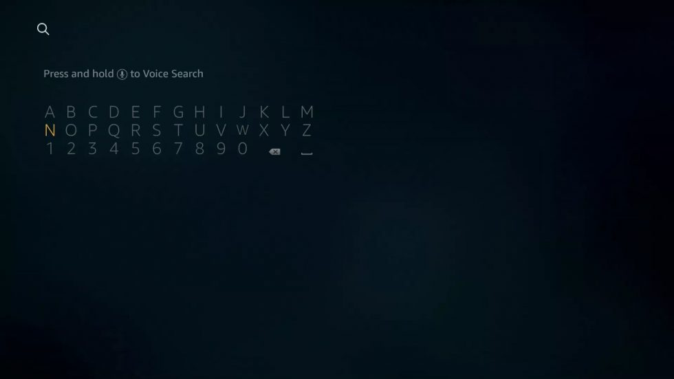 type the app name- AT&T TV On Firestick