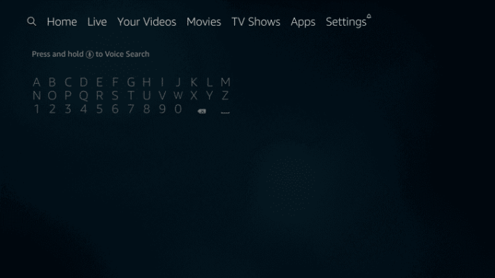 select search icon