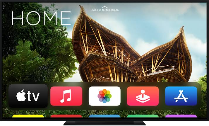 Discovery Plus on Apple TV- launch the tv screen