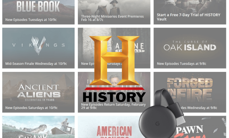 How to Watch History Channel on Chromecast