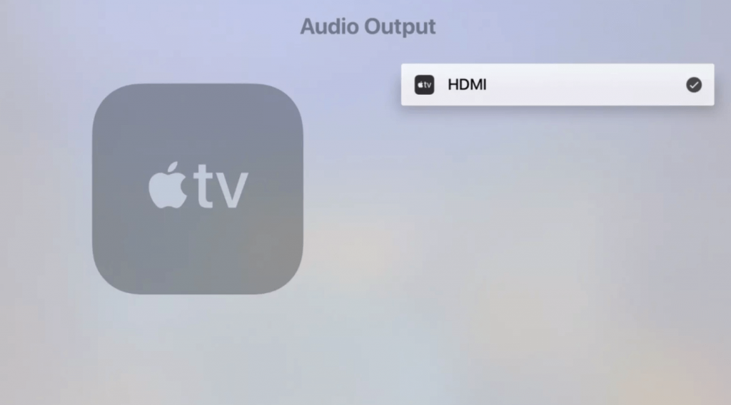 select your HomePod to connect HomePods to Apple TV
