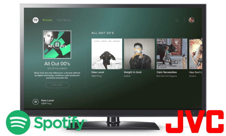 How to Install Spotify on JVC Smart TV