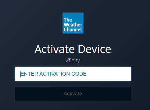 Activate The Weather Channel on Google TV