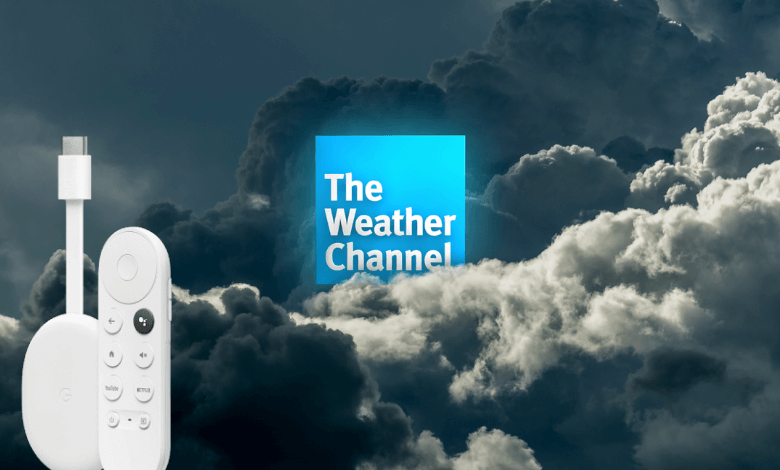 The Weather Channel on Google TV