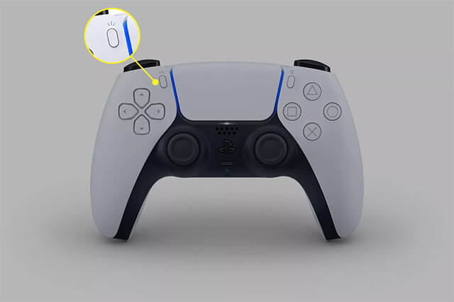 click on create button to record gameplay on ps5