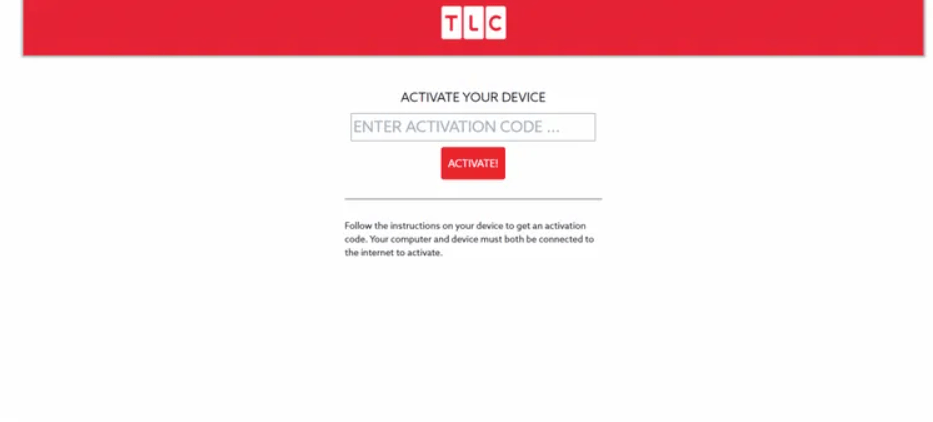 enter the activation code to activate the app