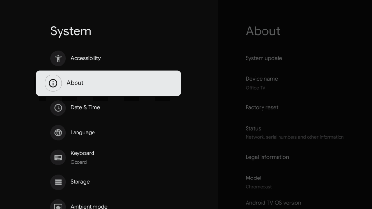 Enable Unknown Sources on Google TV