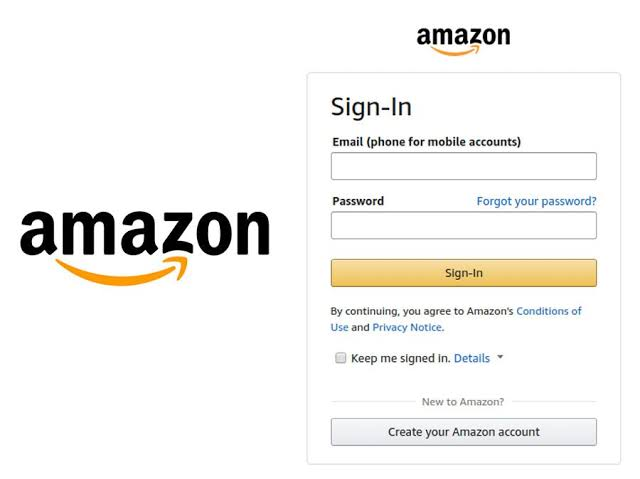 Sign in to Amazon account