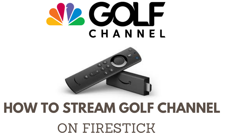 The Golf Channel on Firestick